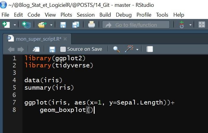 code langage R