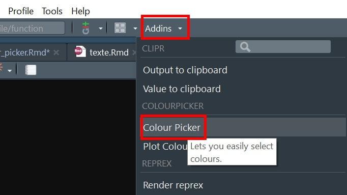 addin colour picker