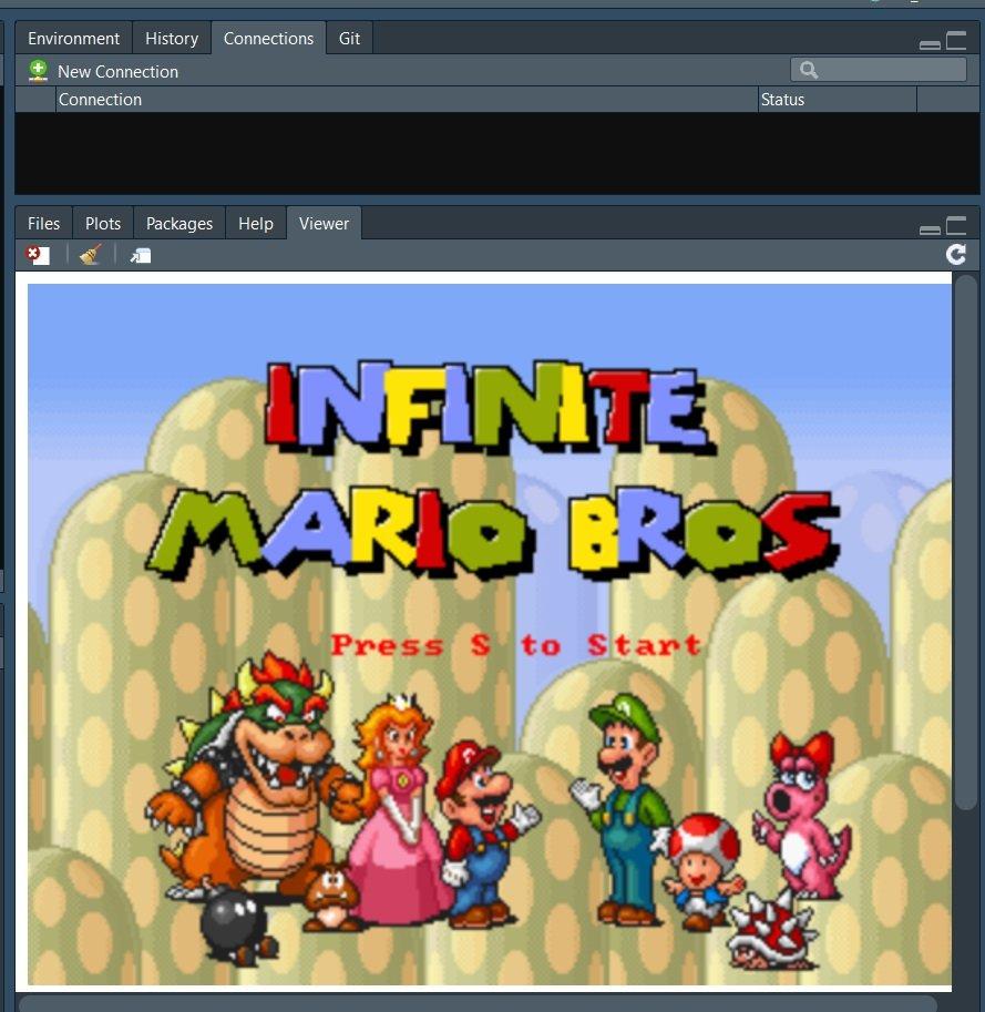 Marioavec logiciel R et R studio