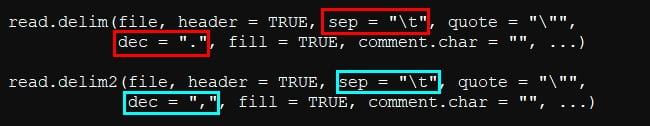 import txt data R