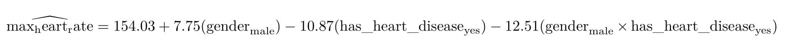 equation anova 2 avec interaction