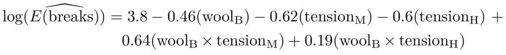 equatiomatic avec GLM
