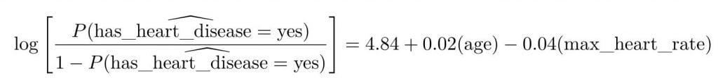 equation régression logistique