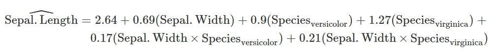 Equationmatic, rendu sur plusieurs lignes